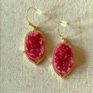 Stella & Dot Charlotte druzy earrings